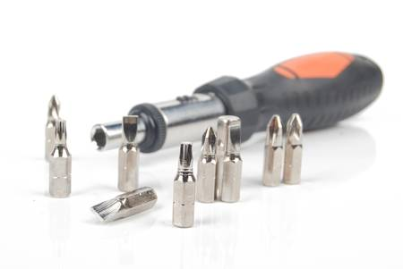 Screw driver and nails Stock Photo - 13086751
