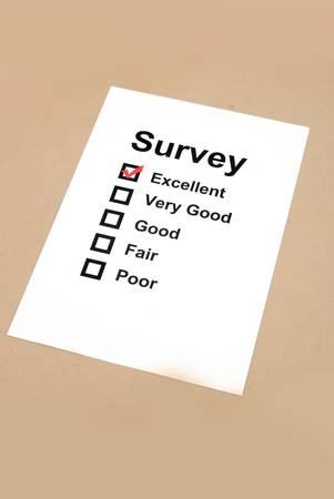 Survey Stock Photo - 13139333