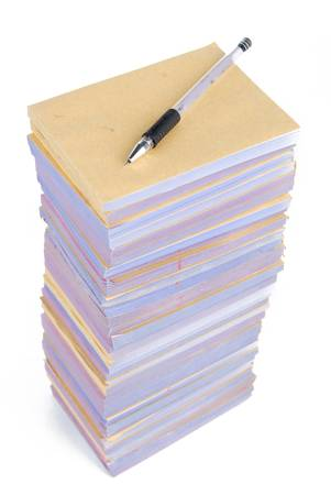 Documents and pen Stock Photo - 13138543