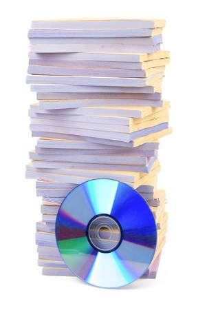 Documents and DVD photo