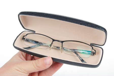 Glasses in case photo