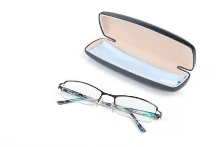 Glasses in case photo