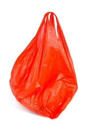 plastic bags: Plastic bag Stock Photo