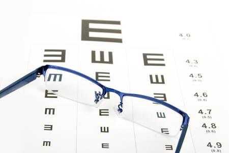 Eye chart Stock Photo - 13185714