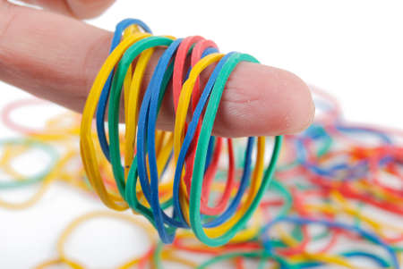 Rubber band photo