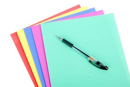 Color paper photo
