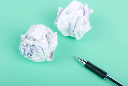 Waste paper Stock Photo - 13235497