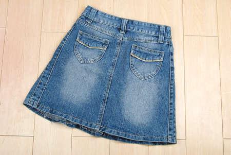 Jean shirt photo