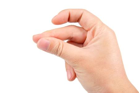 Hand sign photo