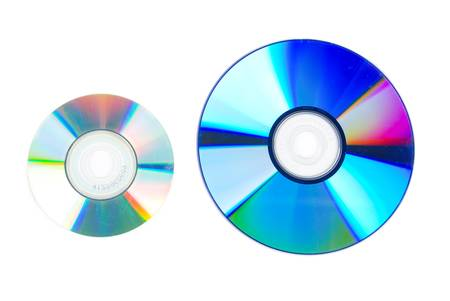 CD and DVD Stock Photo - 13305389