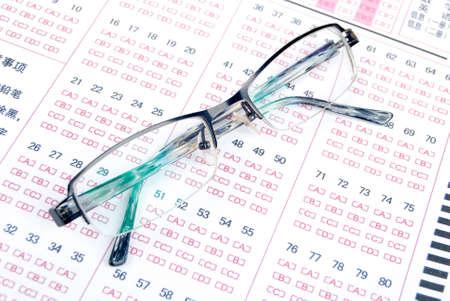 Exam photo
