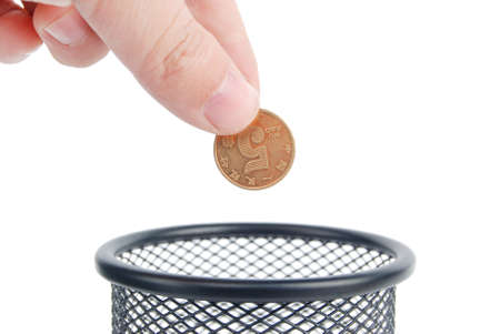 Coin and pot photo