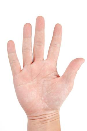 handsign: Hand sign