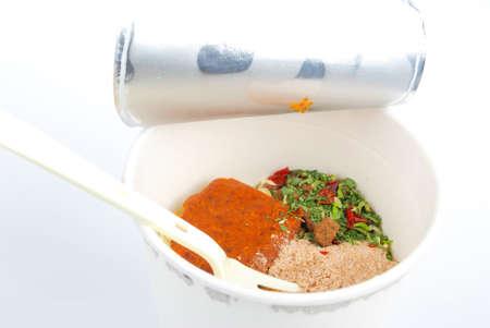 Instant noodles Stock Photo - 13319382