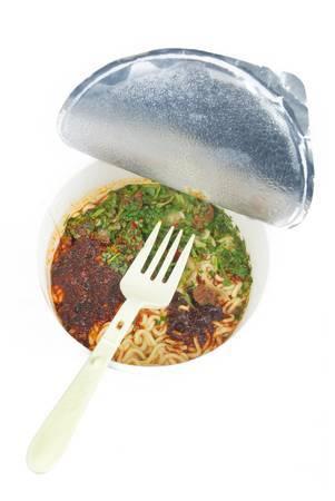 Instant noodles Stock Photo - 13319369