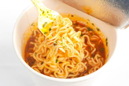Instant noodles Stock Photo - 13319341