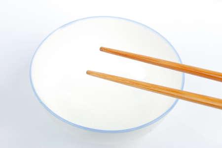 Bowl and chopsticks Stock Photo - 13318929