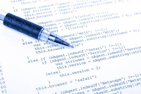 Html and pen photo