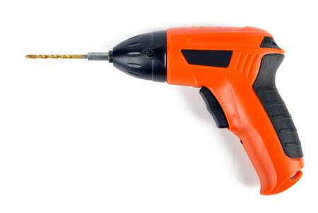Electric drill Stock Photo - 13338916