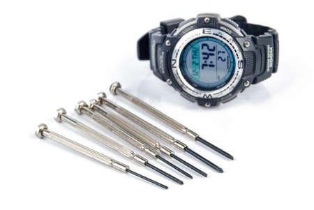 hobbyist: Precision screwdriver and digital watch