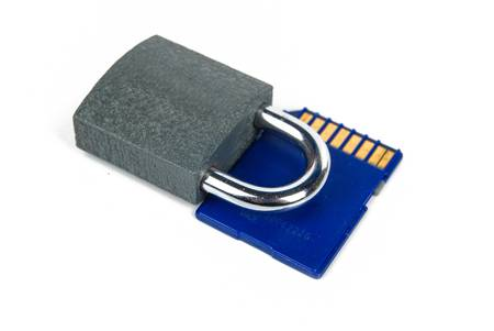mmc: Information security Stock Photo