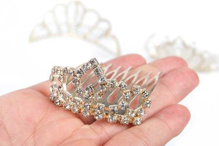 jeweled: Crown Stock Photo