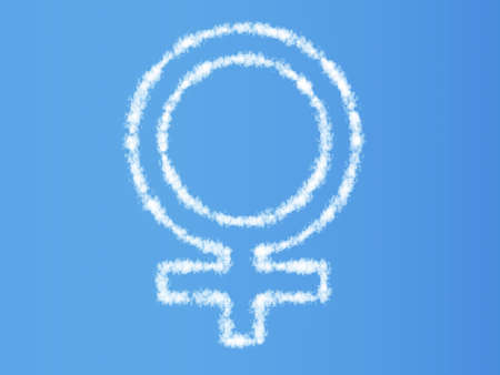 typesetter: Cloud symbol Stock Photo