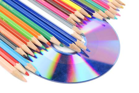 recordable: Color pencil and DVD