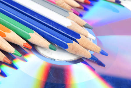 writable: Color pencil and DVD