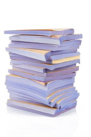 registros contables: El papel autocopiativo Foto de archivo
