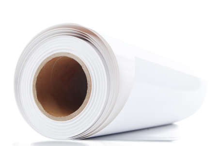 rolled newspaper: Roll paper