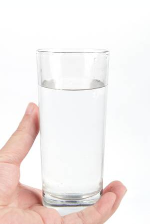 Glass of water photo
