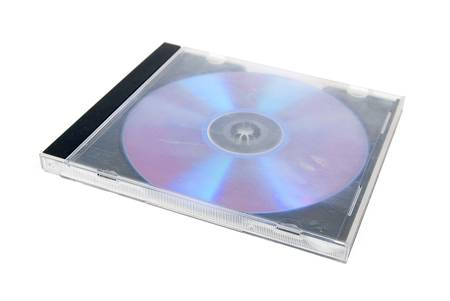 DVD and case Stock Photo - 13449580