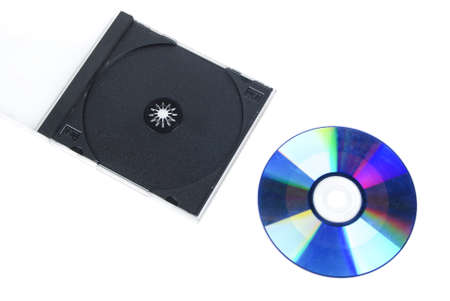 DVD and case Stock Photo - 13449798