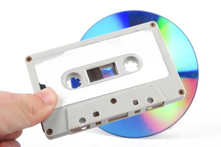 optical disk: DVD and cassette