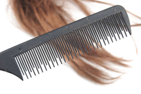 Comb and hair photo