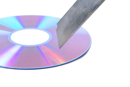 Knife and DVD photo