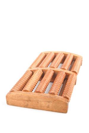 massager: Wood foot massager