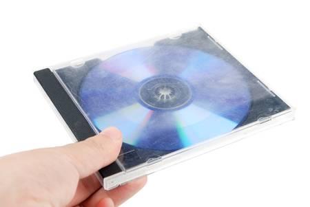cd case: CD case Stock Photo