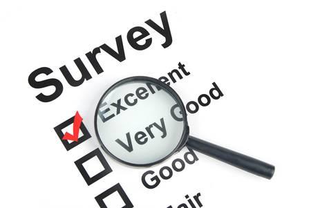 Survey Stock Photo - 13490854