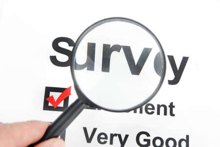Survey Stock Photo - 13492664