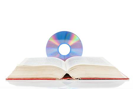 DVD with dictionary photo