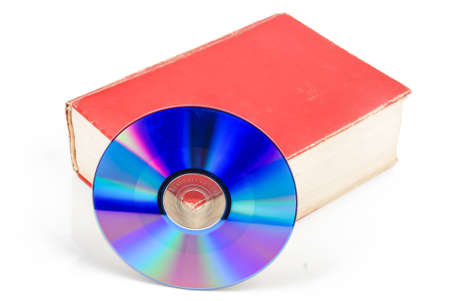 DVD with dictionary Stock Photo - 13519728