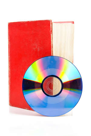DVD with dictionary Stock Photo - 13520083