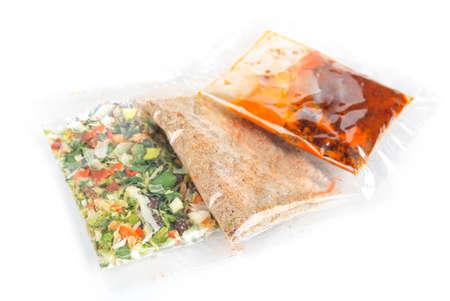 Seasoning package photo