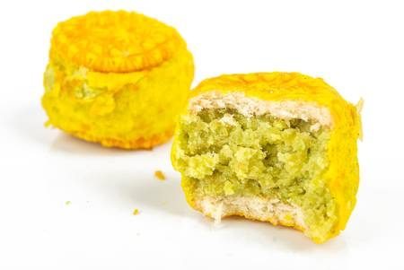 Mung bean cake Stock Photo - 13581705