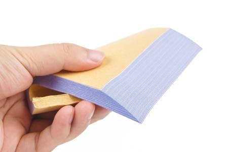 Invoice book photo