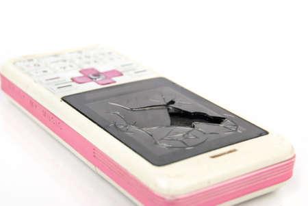 unreachable: Broken cellphone
