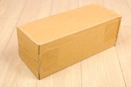 Cardboard box photo