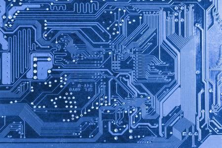 semiconductor: PCB Stock Photo